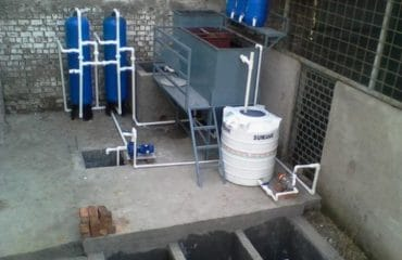 Plastic industries wastewater recycling plant